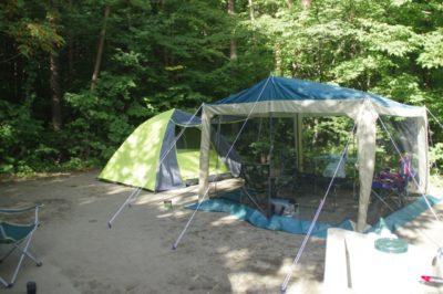 家族キャンプ