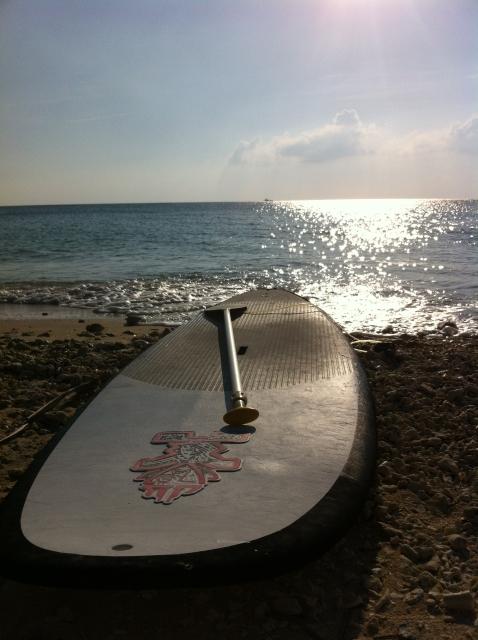 スタンドアップパドルサーフィンのボード