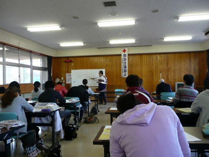 赤十字救急法基礎講習