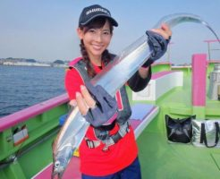 タチウオを釣ろう!初心者向けタチウオ釣りの時期・仕掛け・釣り方のポイント