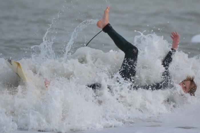 サーフィンで失敗する人